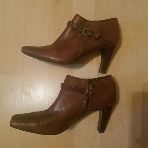 Ankle Brown Boots